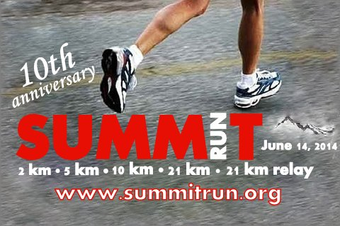 We're sponsoring the Summit Run.. Again!